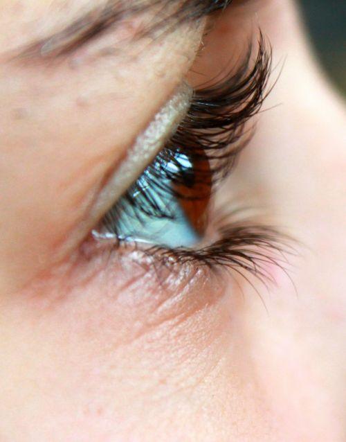 eye eyelashes face