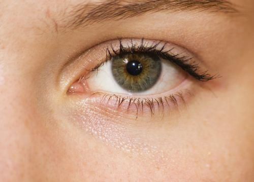 eye green girl