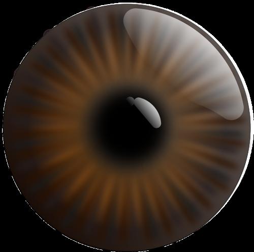 eye realistic iris