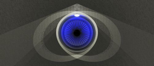 eye blue graphics