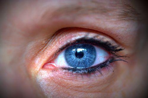 eye human eye blue