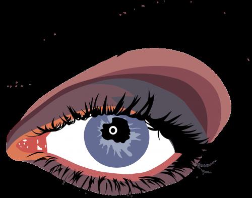 eye eyes look
