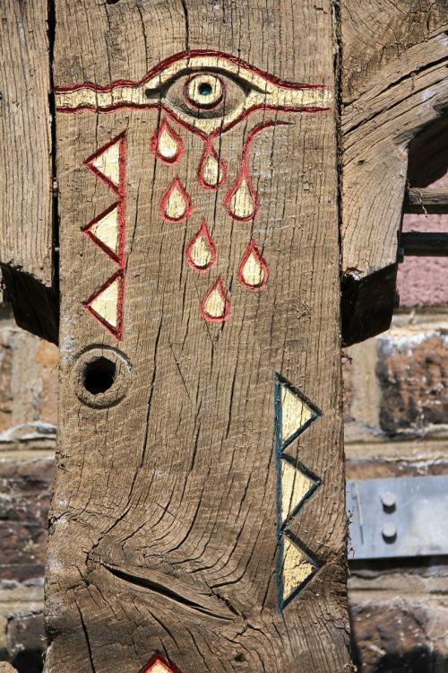 eye wood art