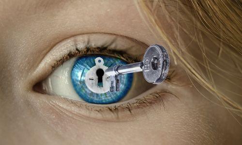 eye key hand