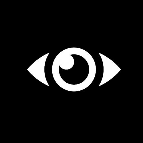 eye computer icon vector