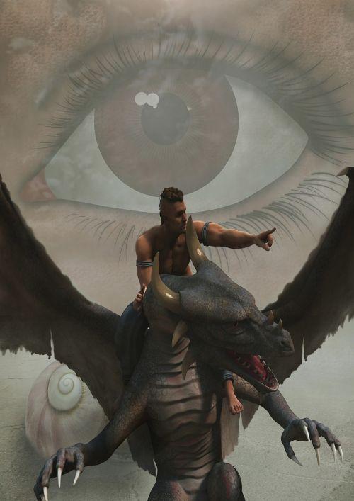 eye fantasy dragons