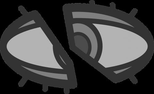 eye invisible layered
