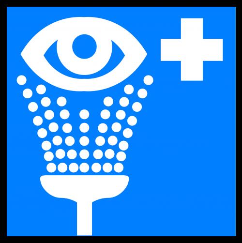 eye wash shower