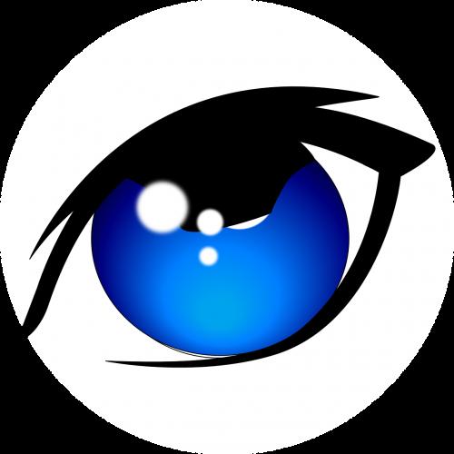 eye blue eyeliner