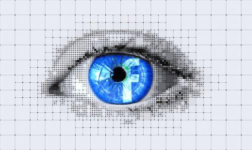 eye facebook detail