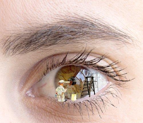eye  painter  painting