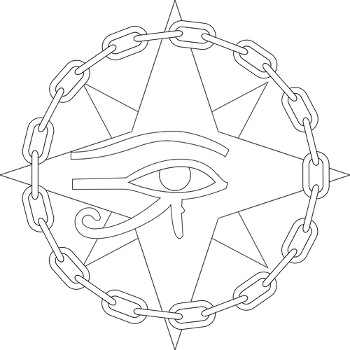eye  necklace  horus