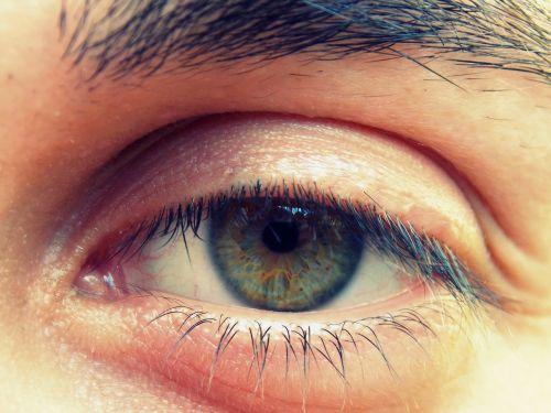 eye iris viewing