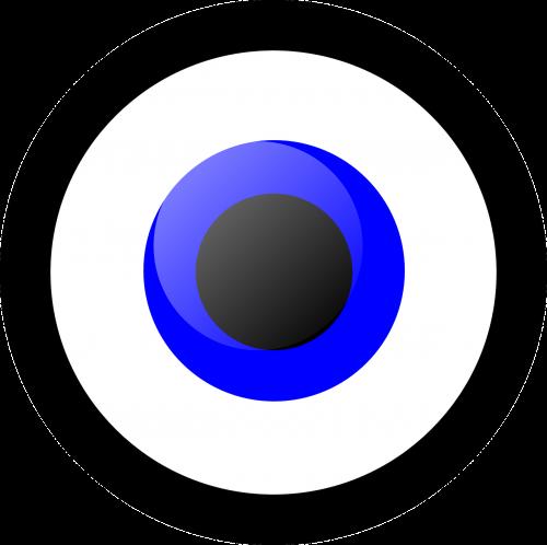 eye eyeball circle