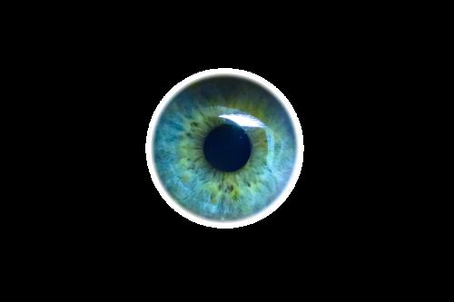 eye iris look