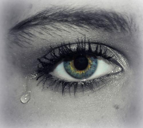 eye tear cry