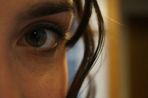 eye green eye woman