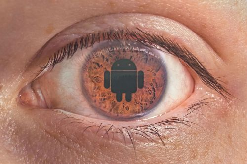eye android iris
