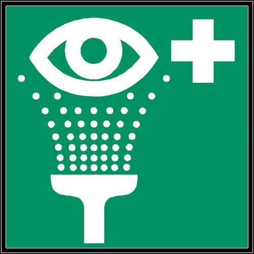 eye shower eye wash rinse eyes