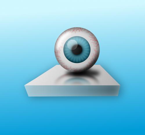eyeball observing eye