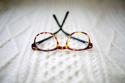 eyeglasses frame blur