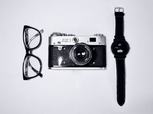eyeglasses camera watch