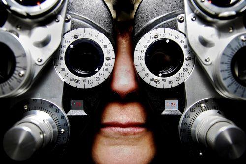 eyeglasses exam optometry