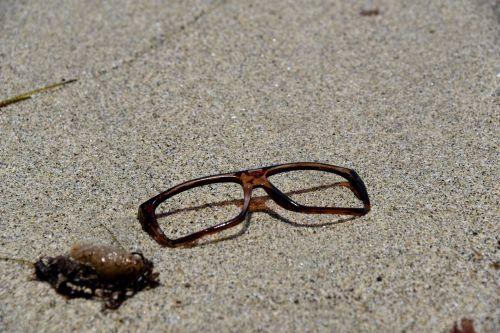 Eyeglasses On The Beach