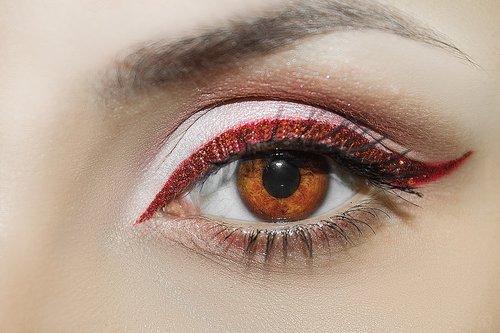 eyelash  eyeball  person