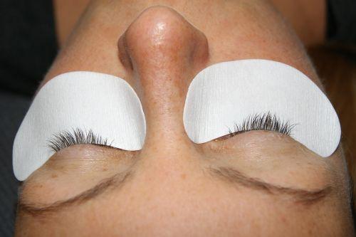eyelashes extension eyes