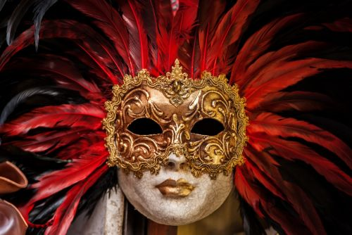eyes golden mask
