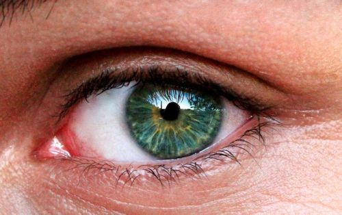 eyes blue man