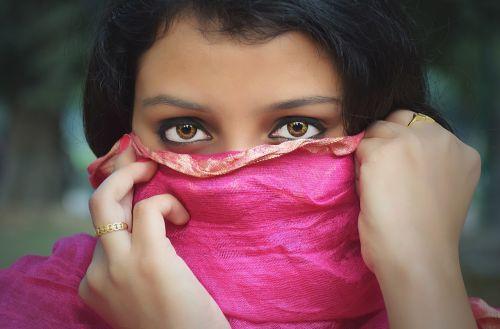eyes girl lady