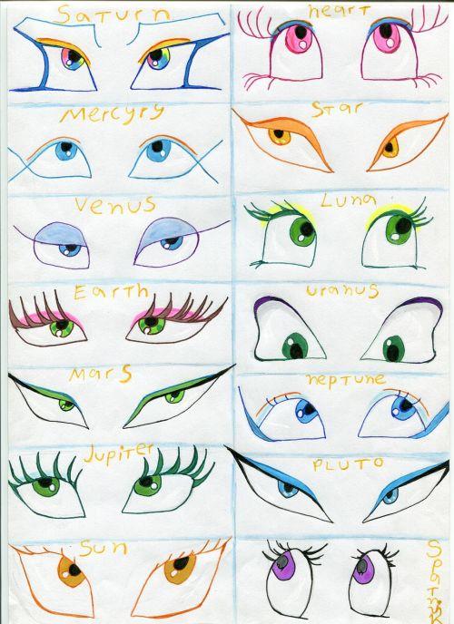 eyes looking view