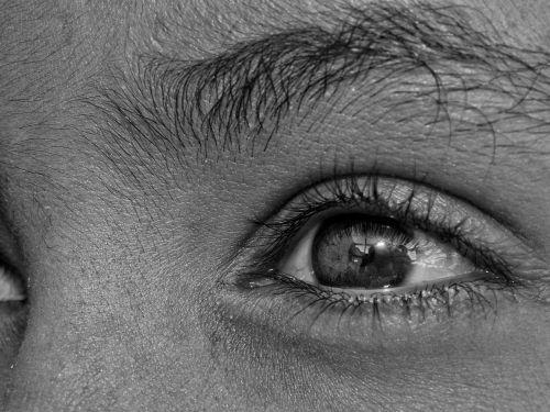 eyes pretoebranco camera