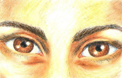 eyes figure portrait