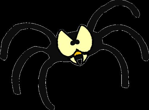 eyes spider bug