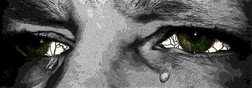 eyes cry tears