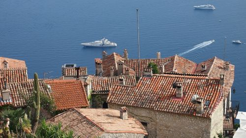 eze village french riviera france