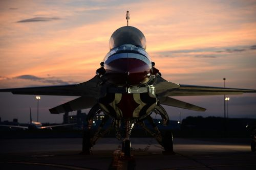 f-16 thunderbird aircraft aviation