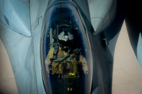 f-16a fighting falcon pilot belgian air force