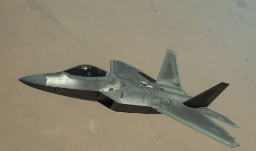 f-22 raptor stealth aircraft