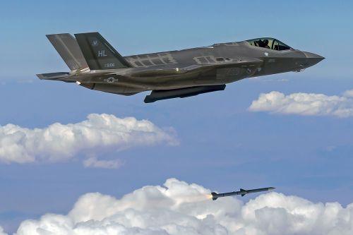 f-35a lightning ii fighter jet