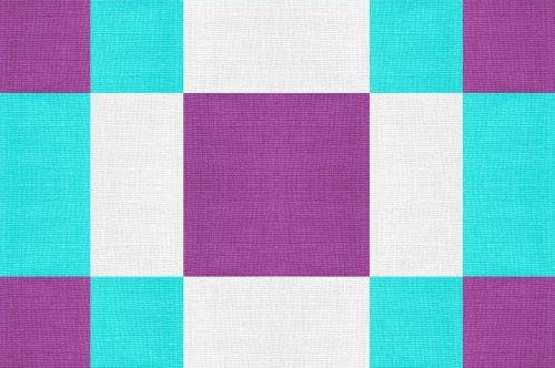 fabric geometric aqua