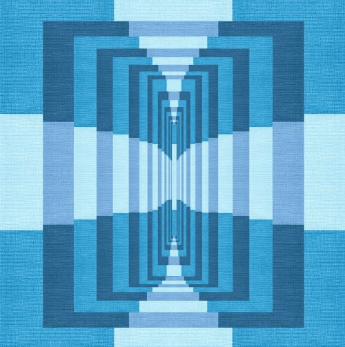 fabric geometric pattern