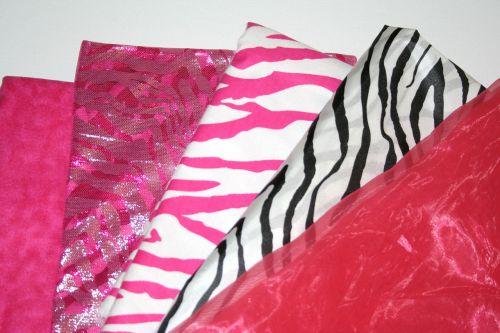 fabric flashy vivid