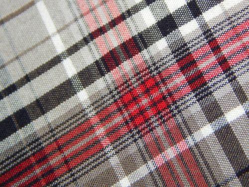 fabric diamonds checkered