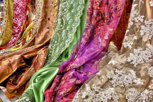 medžiaga,tekstilė,audinys,medžiaga,pluoštas,dizainas,modelis,prabanga,Indijos,mada,spalvinga