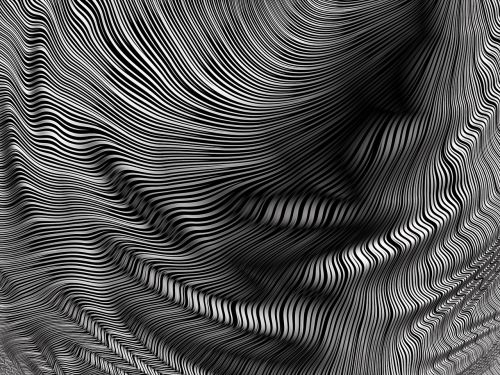 fabric lines contrast