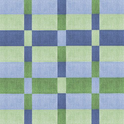 fabric blue green